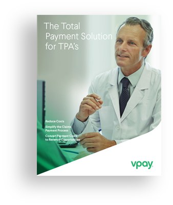 Cover of Vpay TPAs brochure