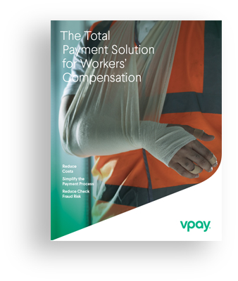 Cover of VPay Workers Comp brochure