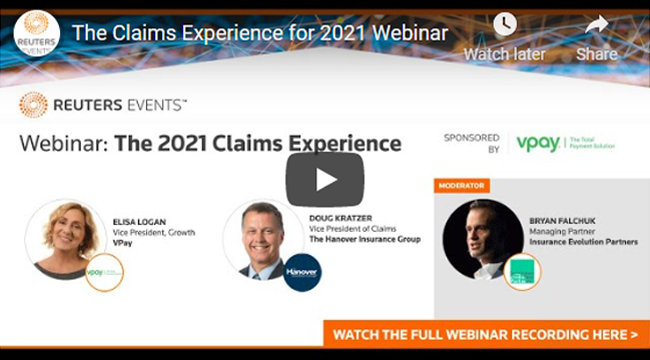 Webinar: The Claims Experience in 2021 – with Hanover and VPay